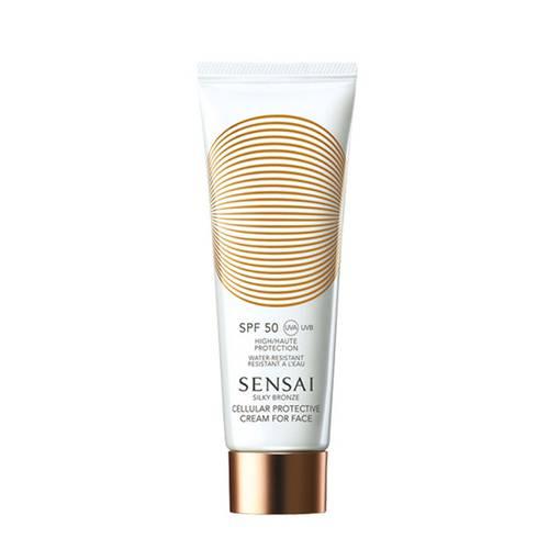 Silky Bronze Protective Cream VISO SPF 50+
